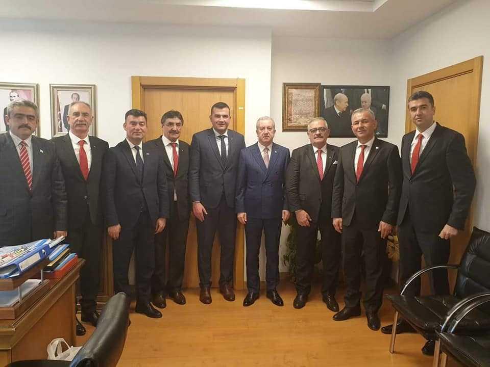 Başkan Kale Ankara'da