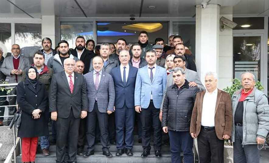 AK Parti Milletvekili Metin Yavuz, İncirliova'da
