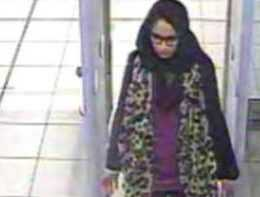 Suriye'ye kaçan İngiliz kızlardan biri bulundu