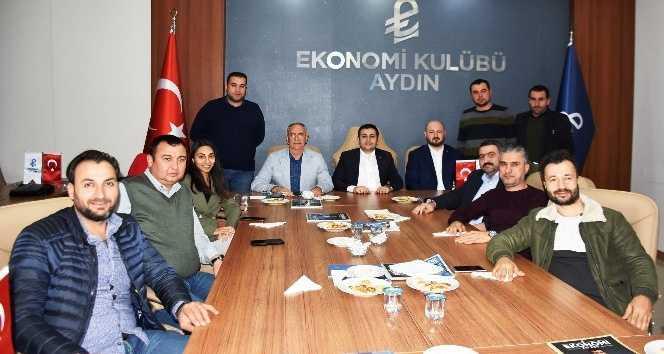 Başkan Kale Ekonomi Kulübünü Ziyaret Etti