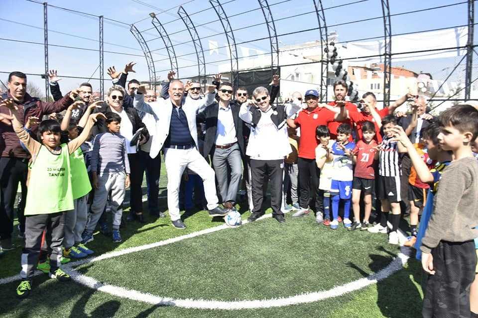 Beşiktaşlıların Tesisi Açıldı