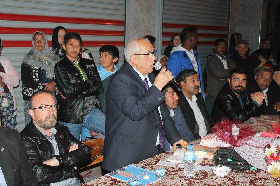 DSP'li Yener, Hürriyet'teydi