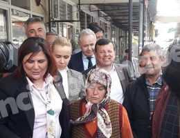 Çerçioğlu ve Kaya'dan Esnaf Ziyareti