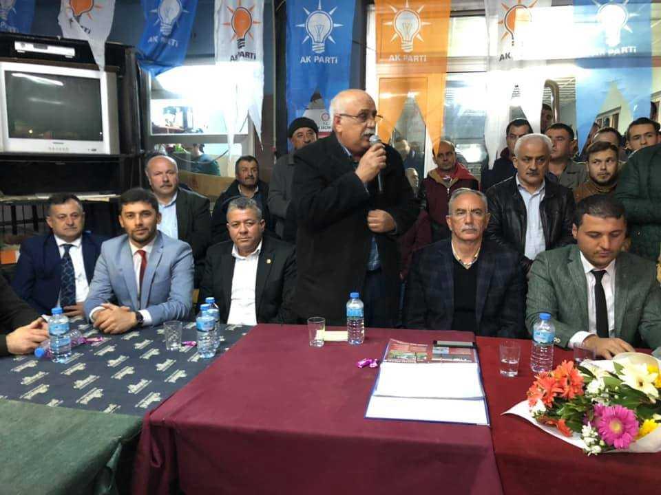 Başkan Kale, Hacıaliobası'nı Ziyaret Etti