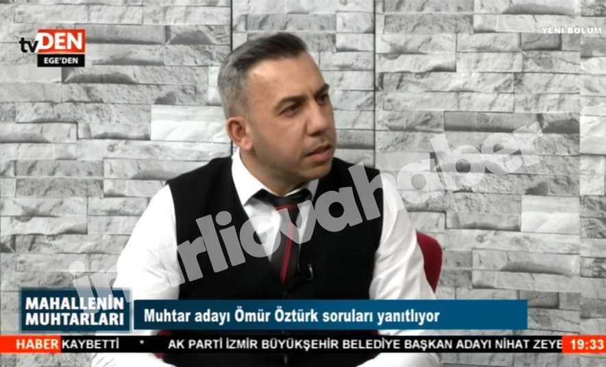 Zafer Mahallesi Adayı Öztürk, TVDen'e Katıldı