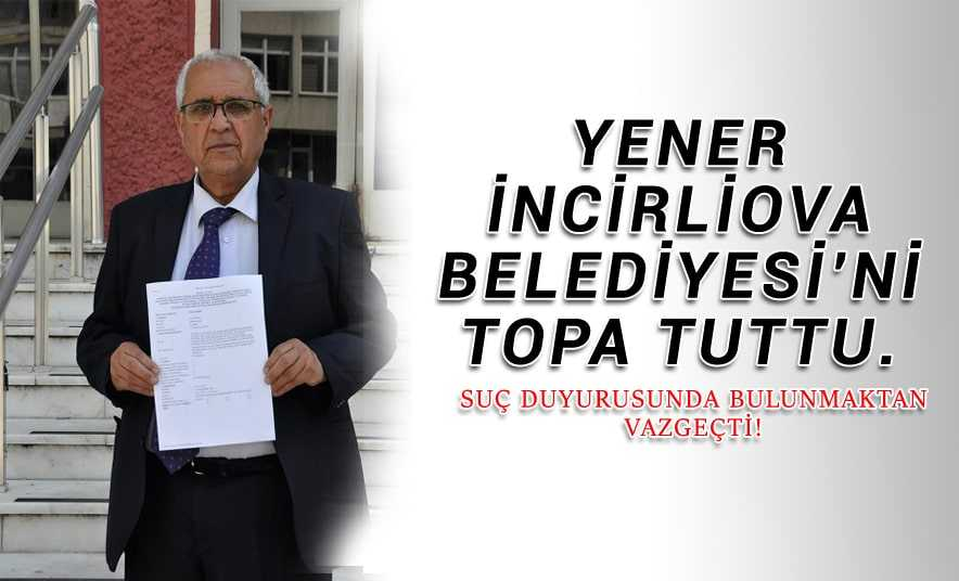 Ayhan Yener Belediye'yi Topa Tuttu