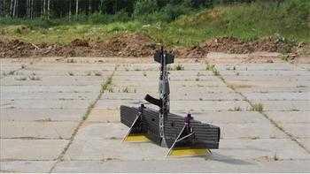 Rus şirket 'drone kalaşnikof'un görüntülerini yayınladı