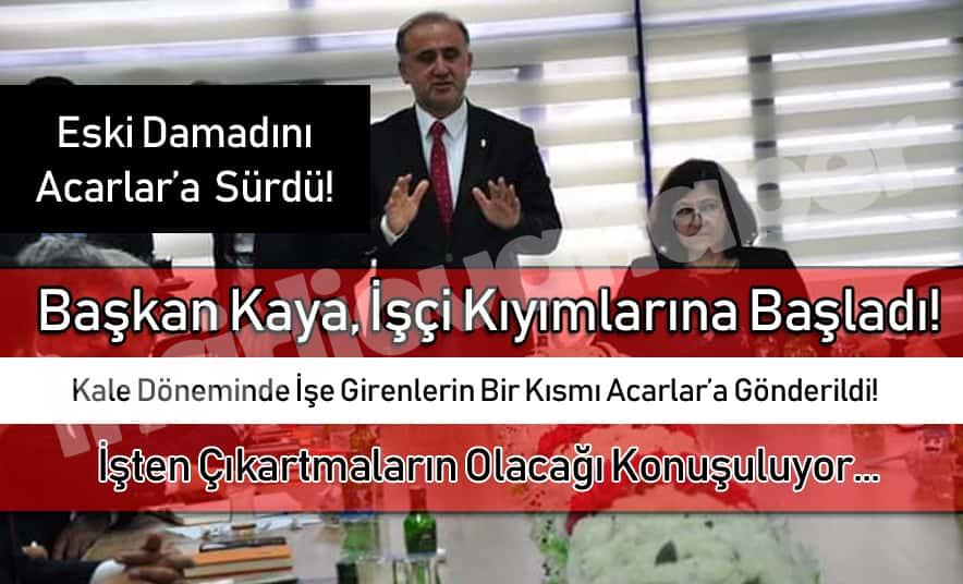 Başkan Kaya'dan MHP'li Üyelere Karşılık!