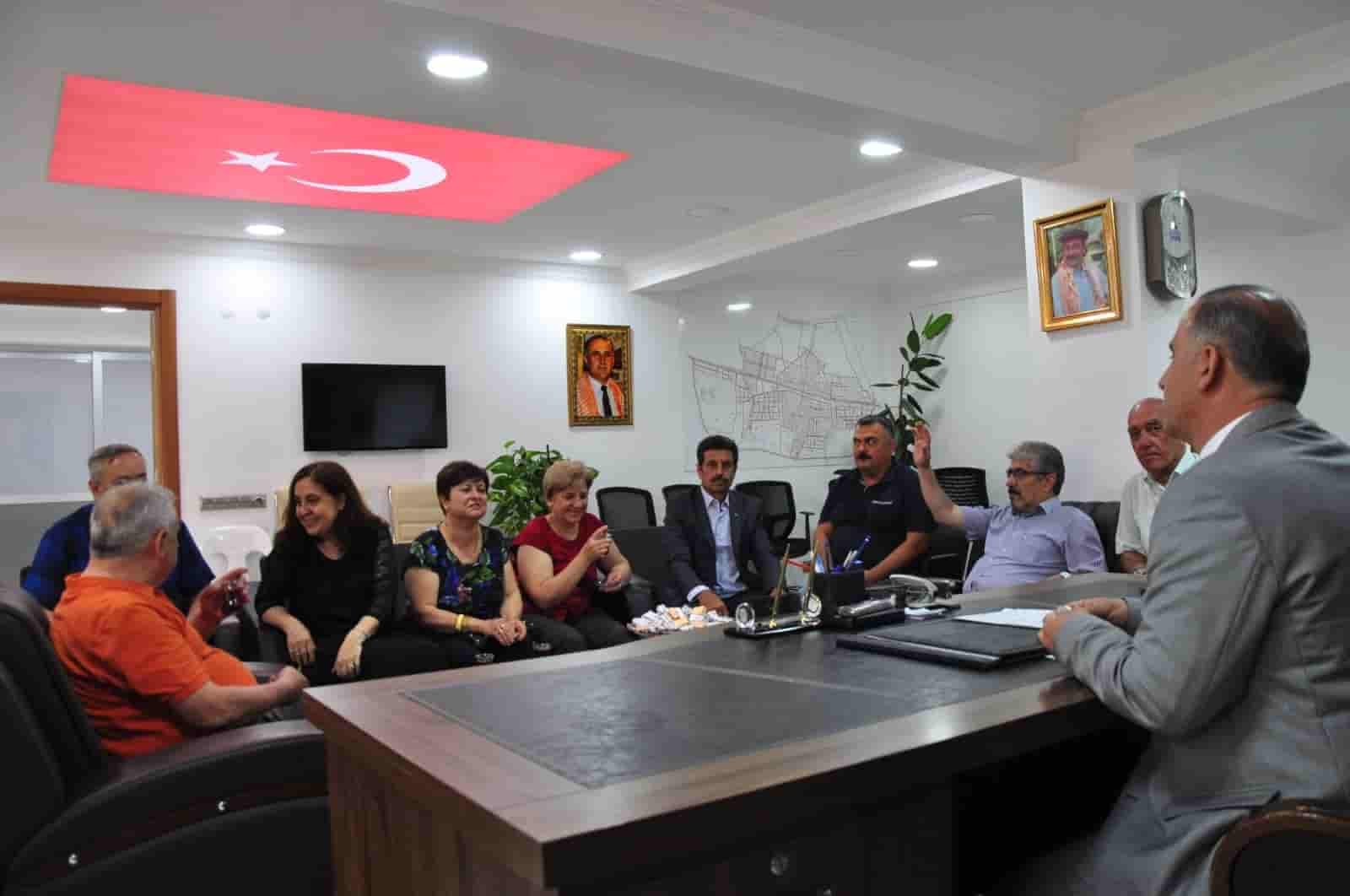 Başkan Kaya, Vatandaşlarla Bayramlaştı