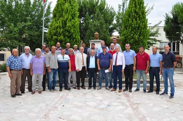 Büyükşehir'den Osmanbükü'ne Ziyaret