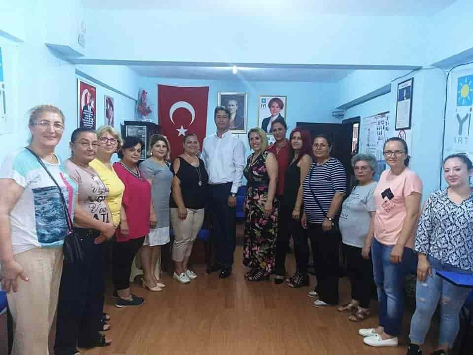 CHP'li Kadınlardan, İyi Parti'ye Ziyaret