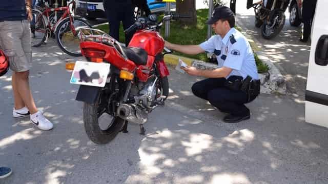 Nazilli'de Çalınan Motosiklet, İncirliova'da Bulundu!