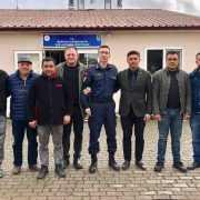 MHP İncirliova'dan Taziye Ziyareti
