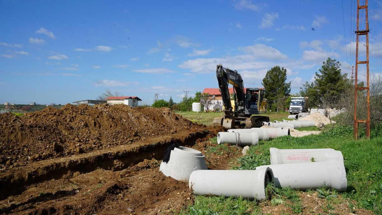 İncirliova'da Altyapı Çalışmaları Devam Ediyor