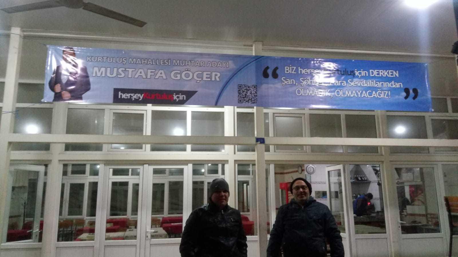 İncirliova'da Muhtar Adaylarının Afişleri Kaldırıldı