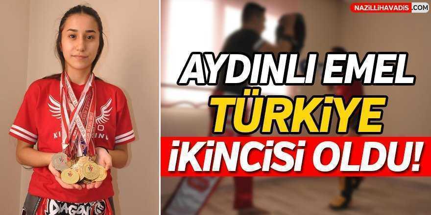 Emel Türkiye İkincisi Oldu!
