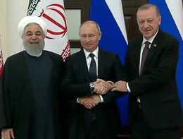 Son dakika… Rusya'da üçlü zirve başladı