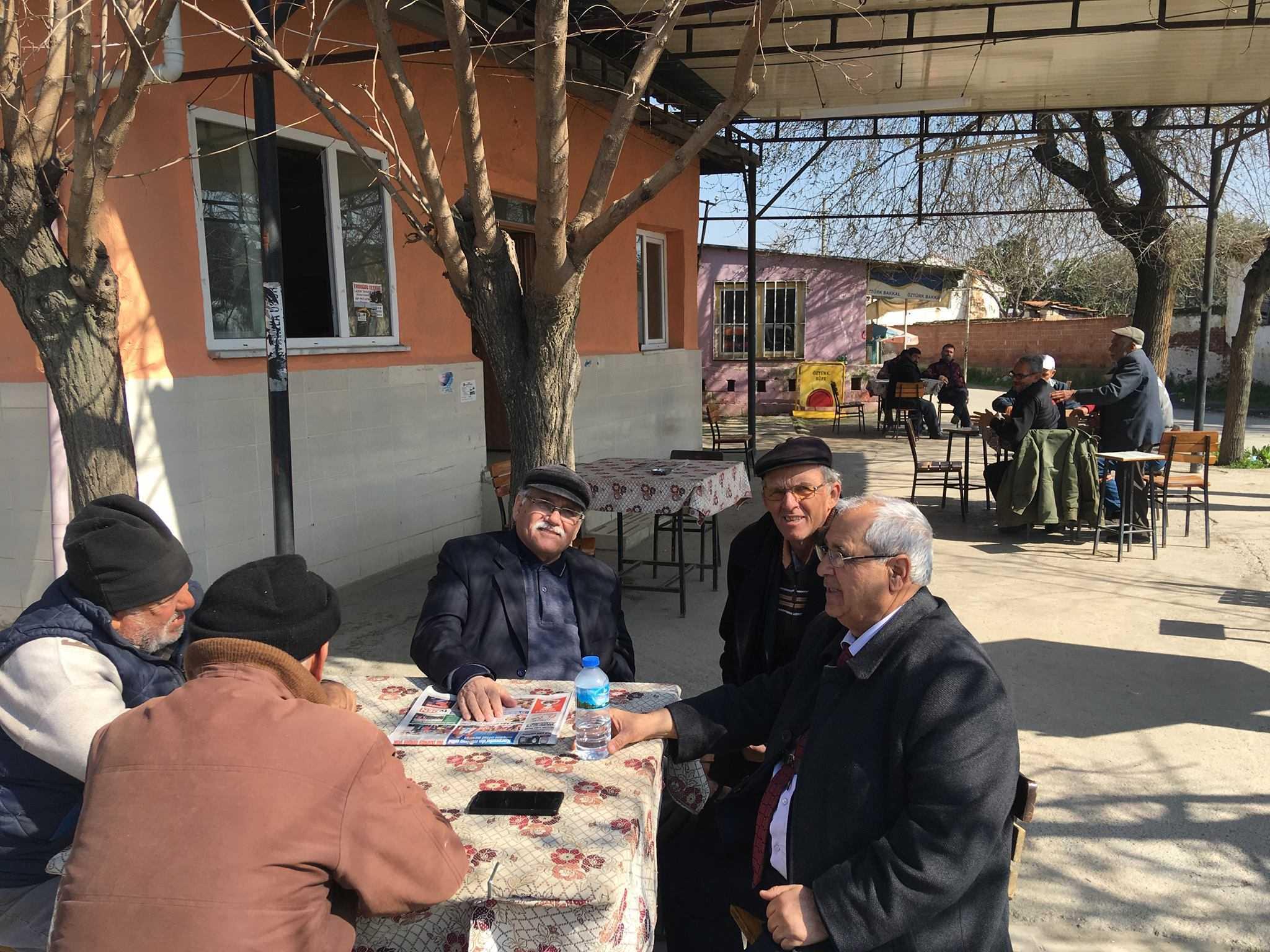 DSP'li Yener Akçeşme ve Sınırteke'yi Gezdi