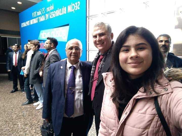 Ayhan Yener Aday Tanıtım Toplantısı İçin Ankara'da