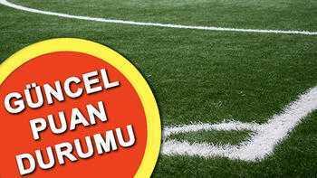Süper Lig puan durumu nasıl şekillendi? Süper Lig 20. hafta puan durumu