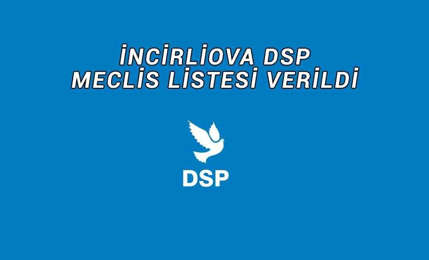 DSP'nin Meclis Listesi Belli Oldu