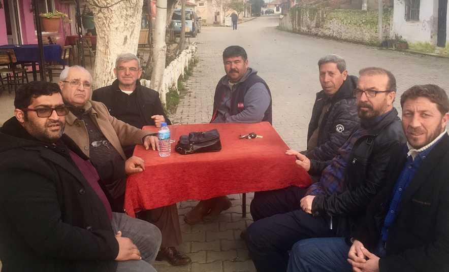 Yener Yazıdere'yi Ziyaret Etti