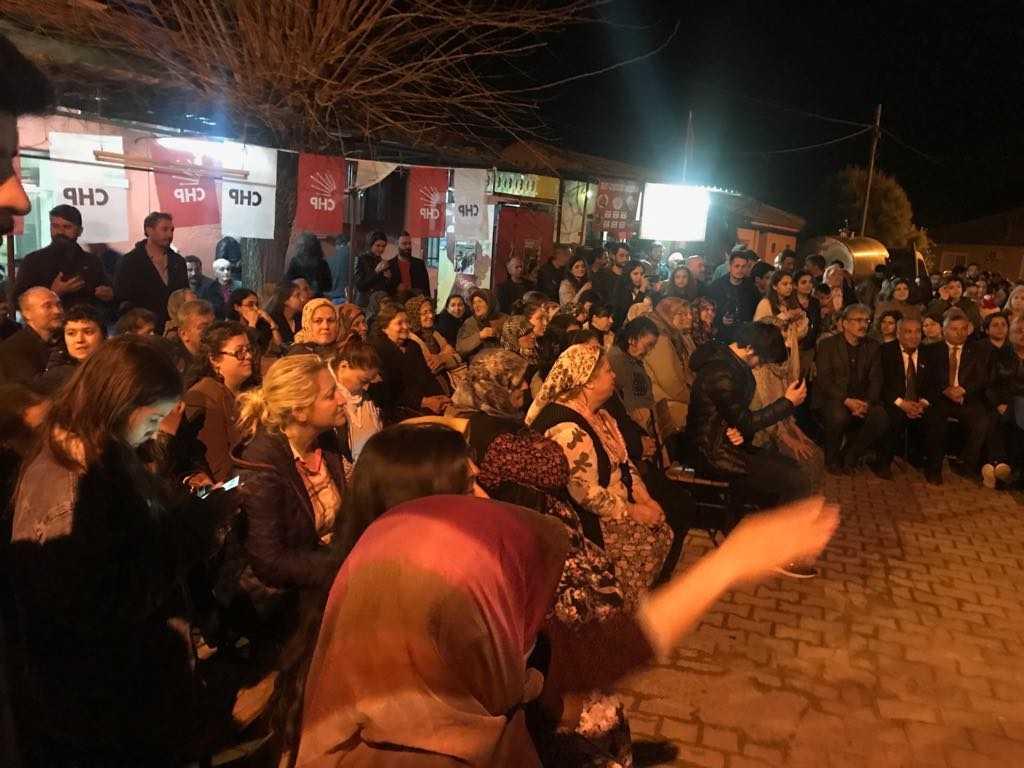 Kaya, Osmanbükü ve Yazıdere'yi Ziyaret Etti