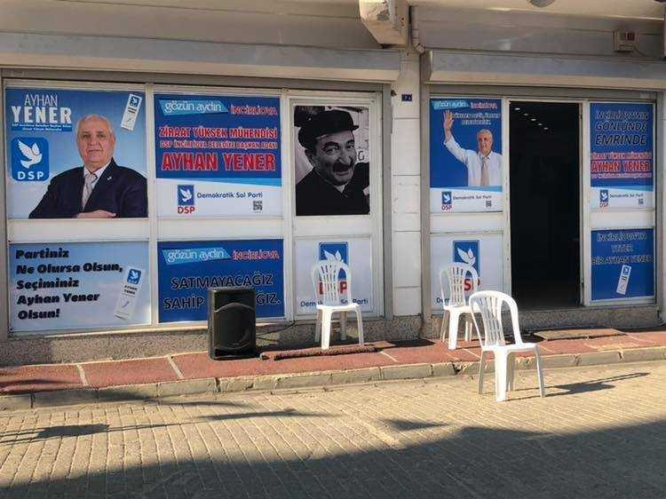 DSP İncirliova'da Seçim Bürosu Açıyor