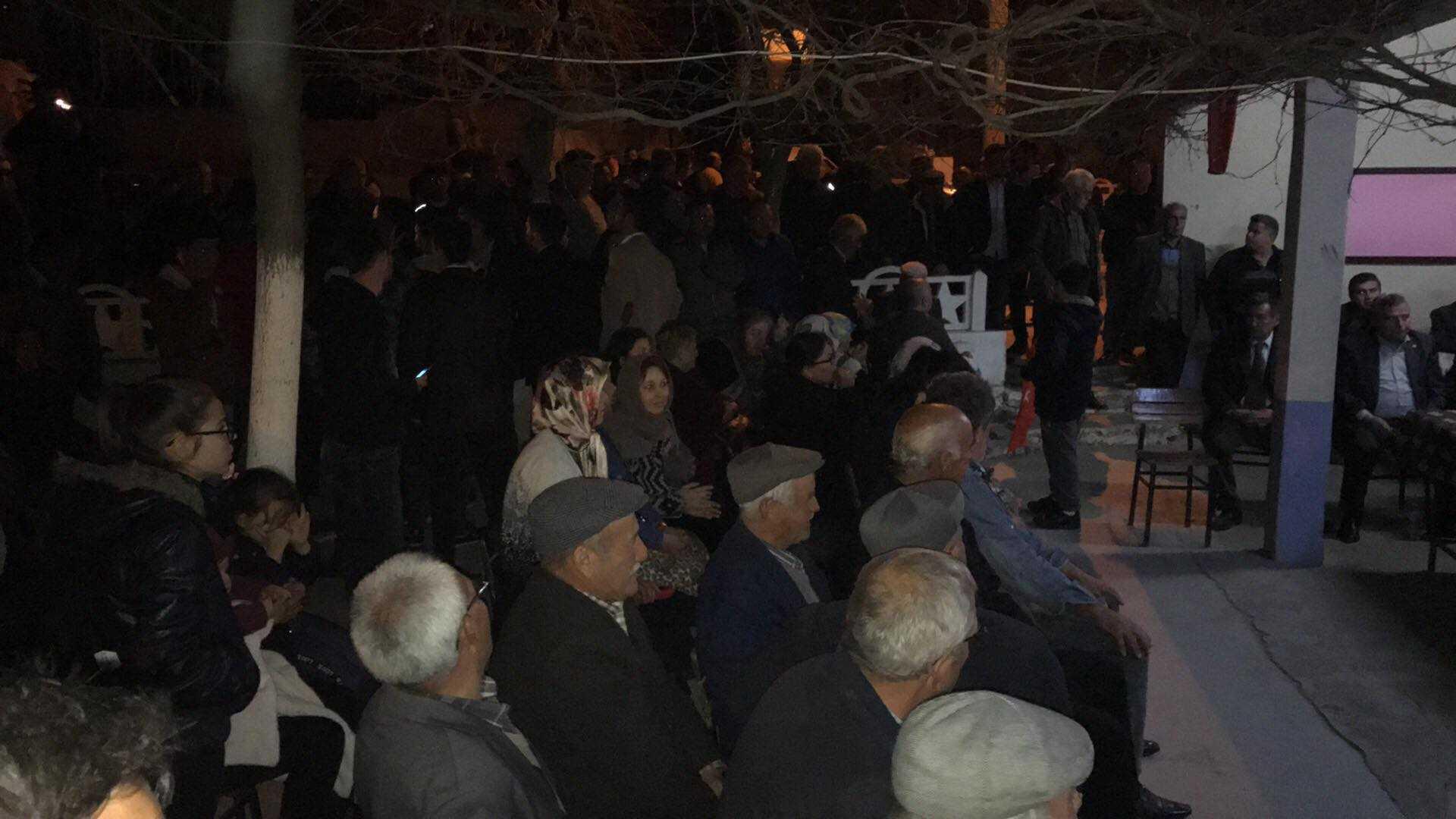 Kaya, Karabağ ve Arzular'ı Ziyaret Etti