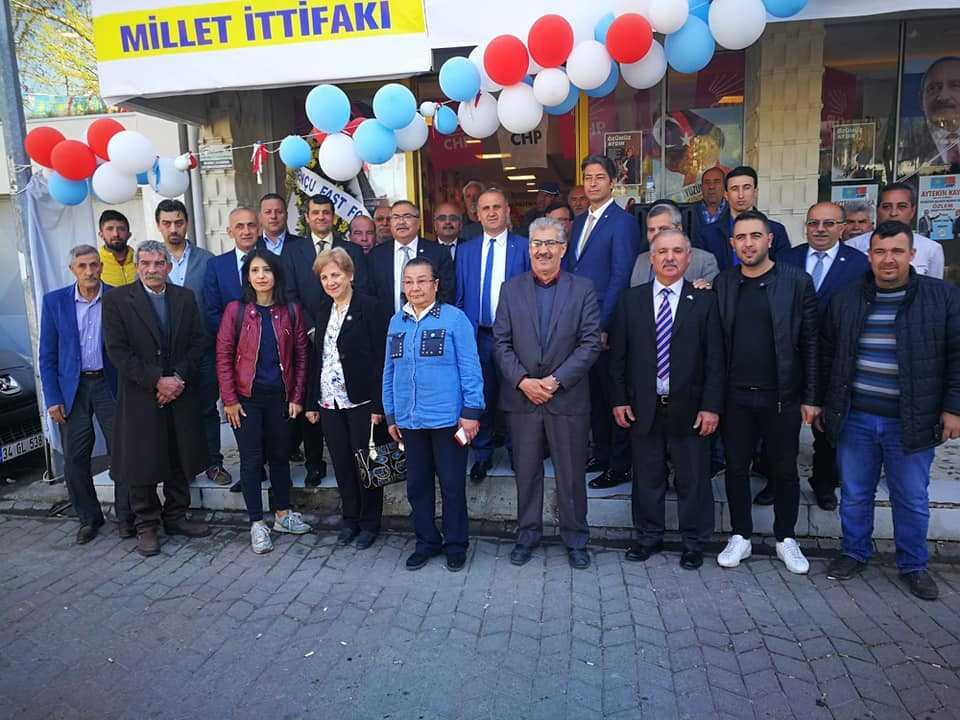 CHP Milletvekili Bülbül, İncirliova'da