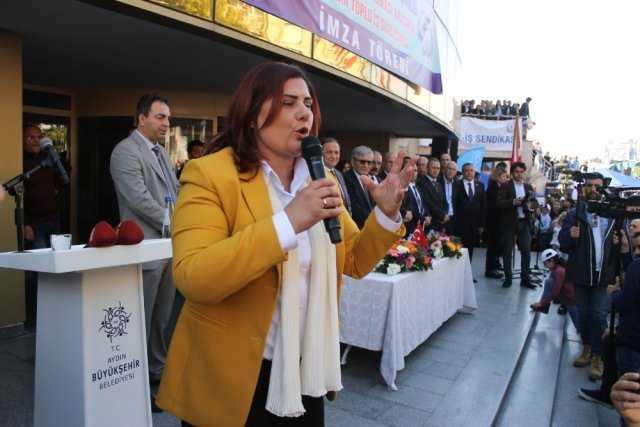 Çerçioğlu'ndan 454 Personele Sözleşme Jesti
