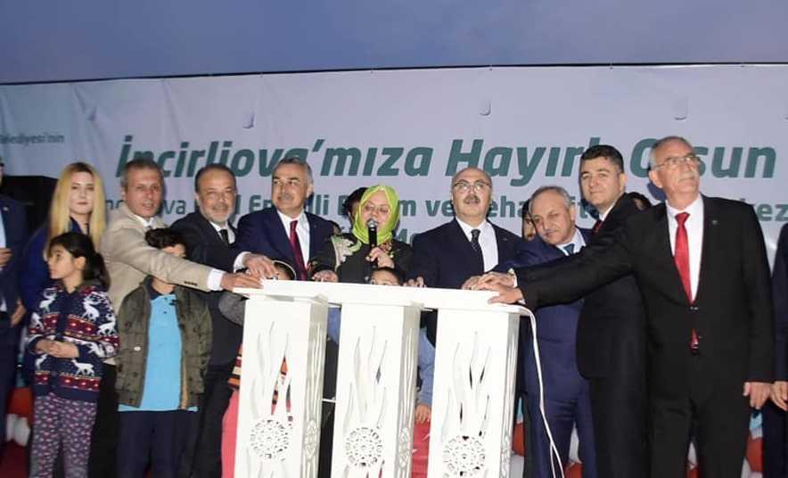 Ege'nin En Büyük Rehabilitasyon Merkezi'nin Temeli Yazıdere'de Atıldı