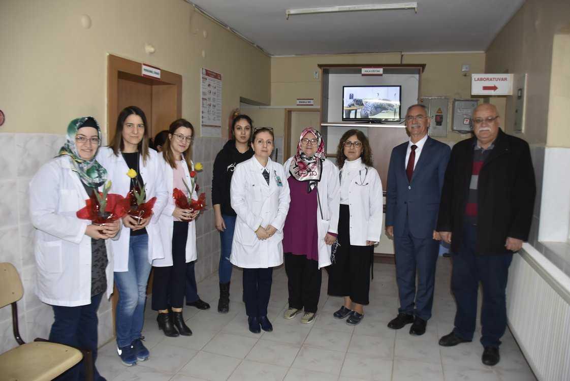 Başkan Kale, 14 Mart Tıp Bayramını Kutladı