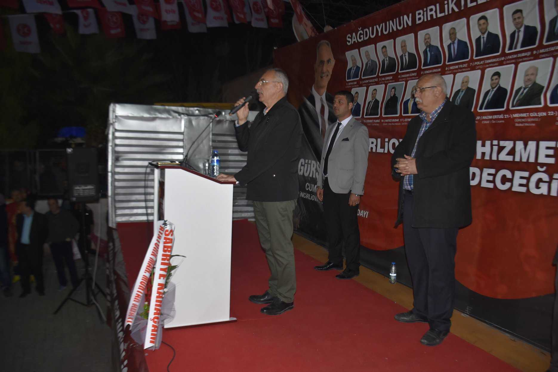 Başkan Kale, Atatürk'teydi