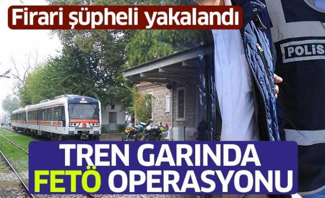 İncirliova Tren Garında FETÖ Operasyonu