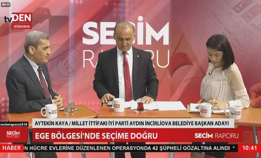 Aytekin Kaya, TVDen Kanalına Konuk Oldu