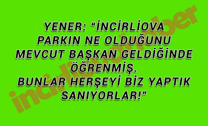 Ayhan Yener, İstiklal'deydi