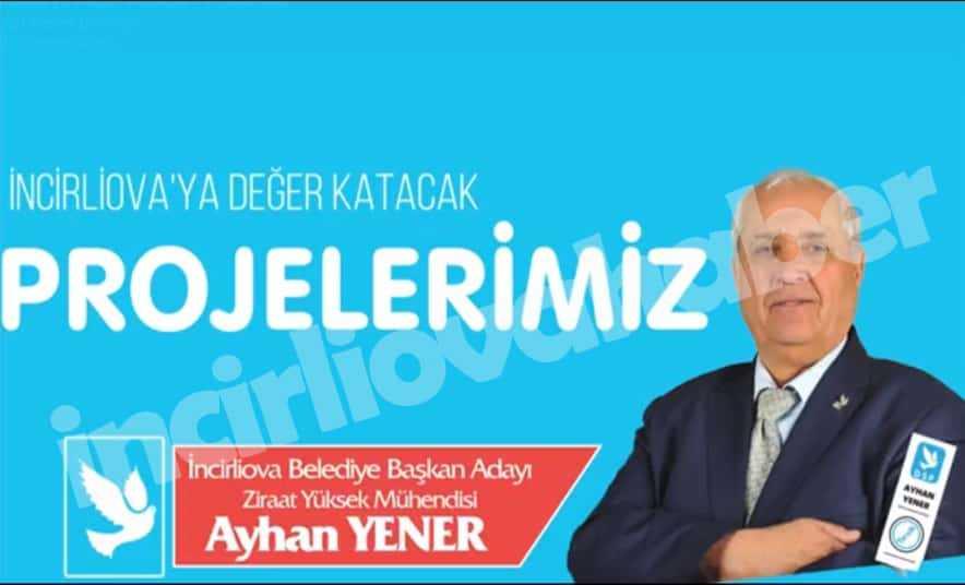 Ayhan Yener, Projelerini Açıkladı