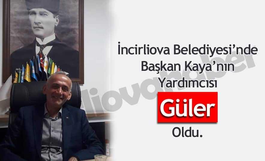 Kaya'nın Yardımcısı Mehmet Güler Oldu