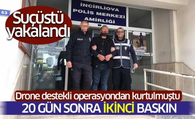 İncirliova'da Uyuşturucu Tacirine Suçüstü