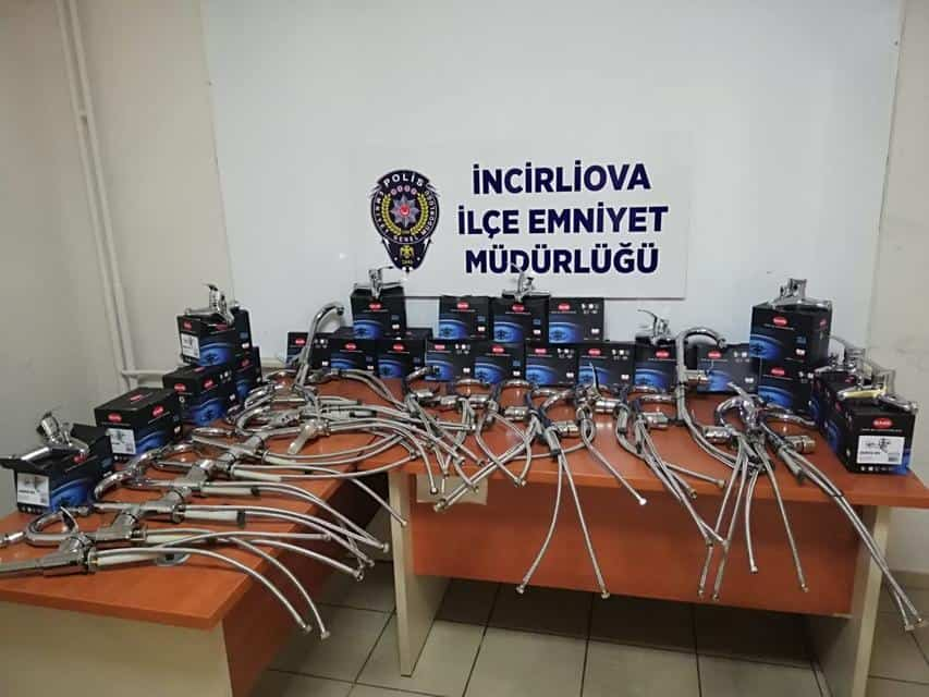 14 Bin Liralık Batarya Hırsızı Yakalandı
