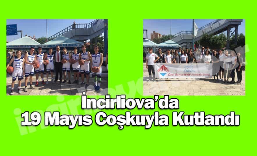 İncirliova'da 19 Mayıs Kutlaması