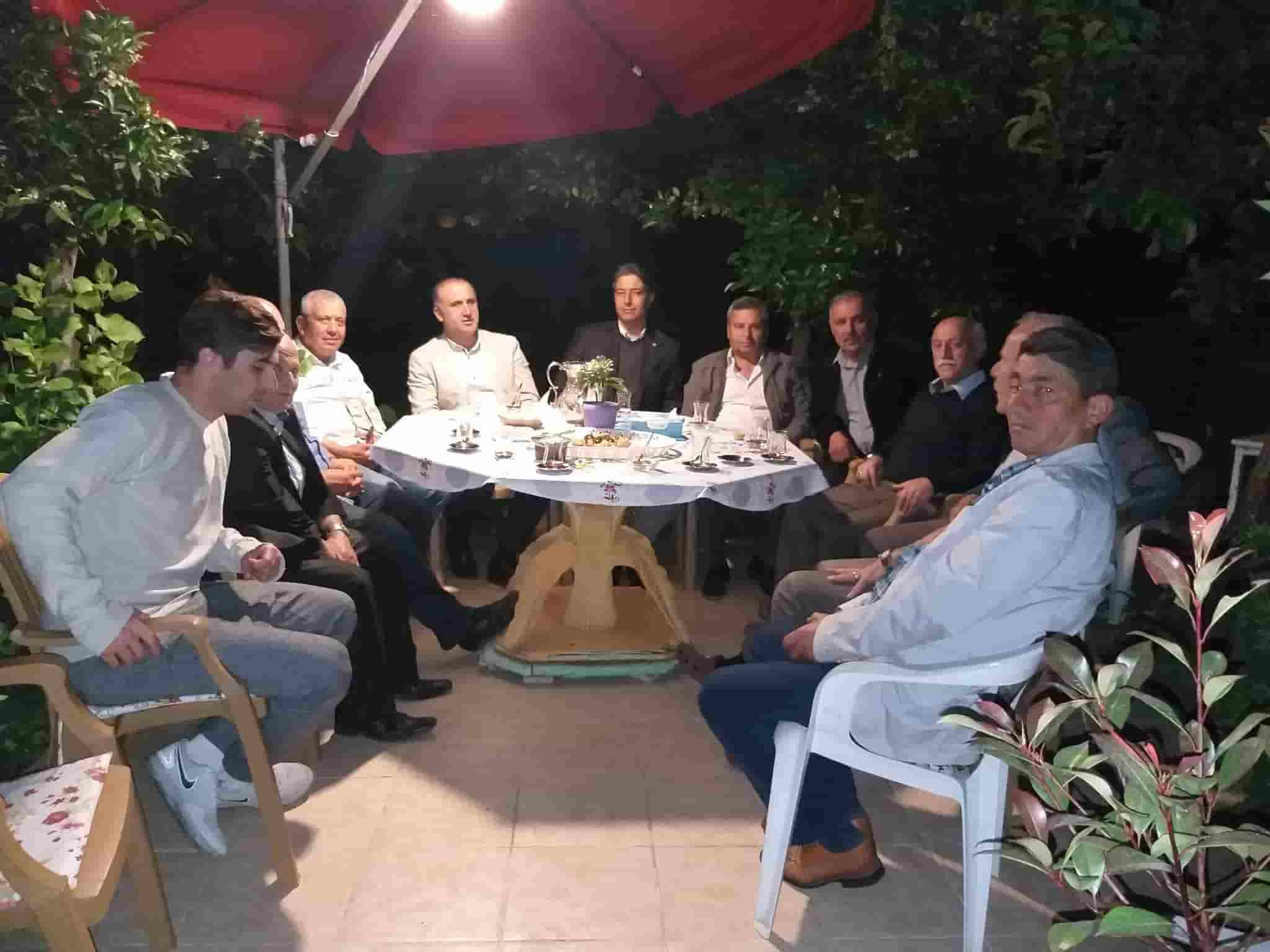 Başkan Kaya'dan Aktemur'a Taziye Ziyareti