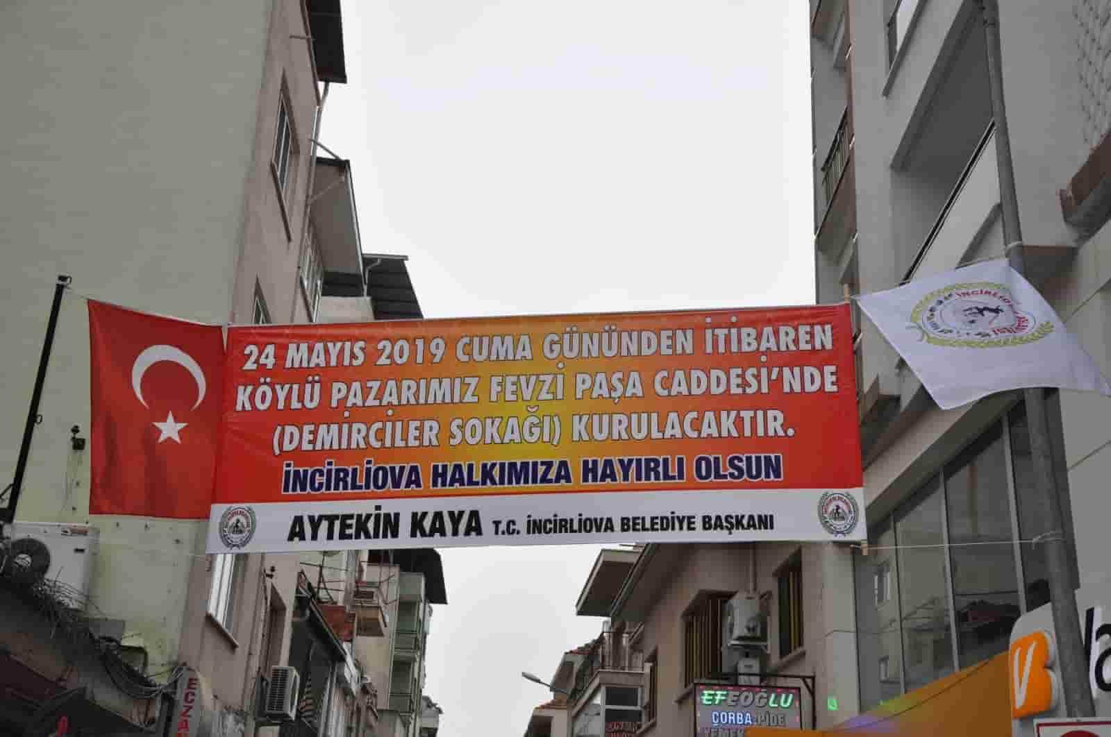 Belediye'den Köylü Pazarı Kararı