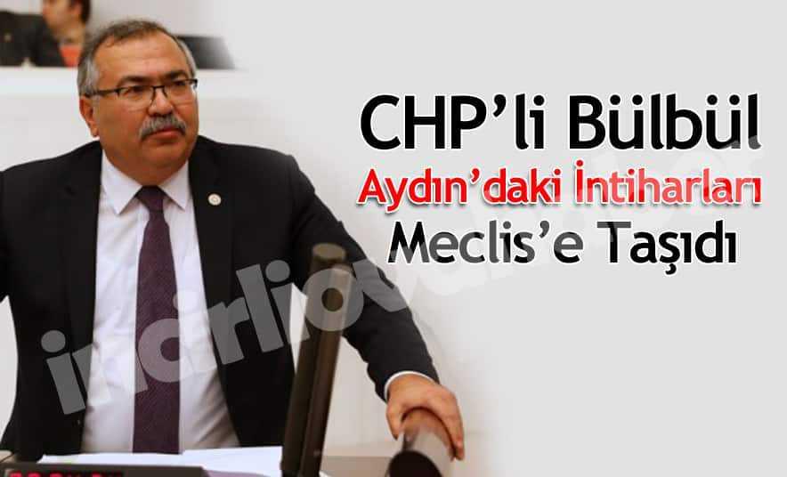 CHP'li Bülbül, İntiharları Meclise Taşıdı