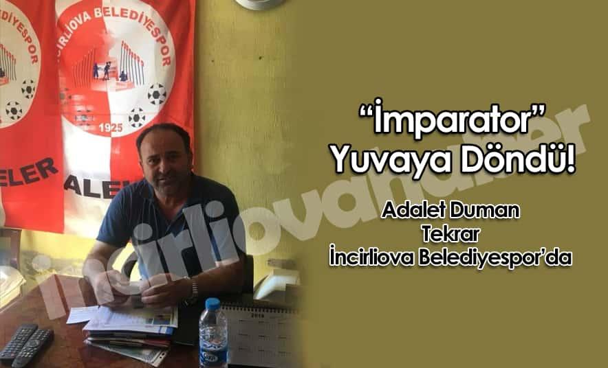 Adalet Duman Tekrar Belediyespor'da