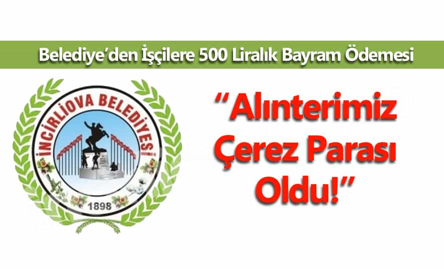 İşçilere 500 Liralık Bayram Ödemesi!