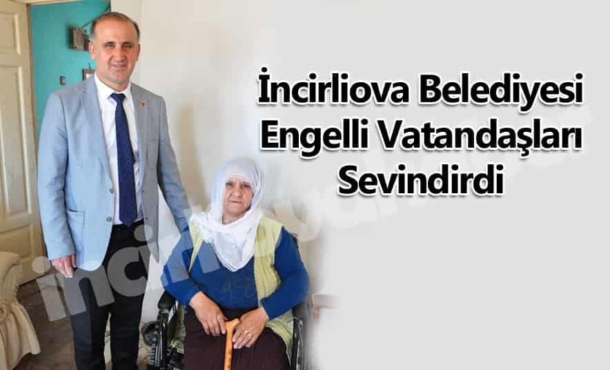 Belediye Engelli Vatandaşları Sevindirdi