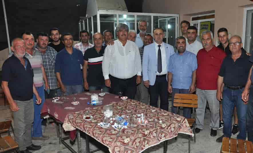 Başkan Kaya'dan Osmanbükü'ne Ziyaret