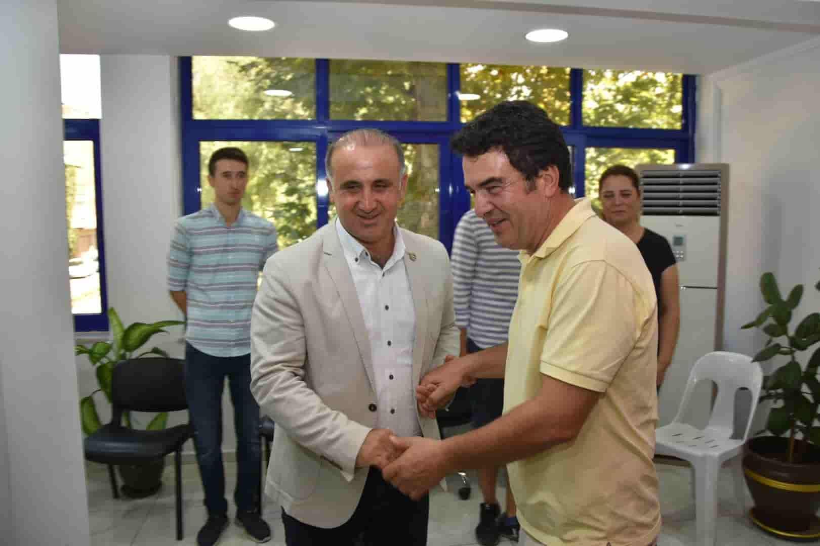 Baydar, İncirliova'yı Ziyaret Etti